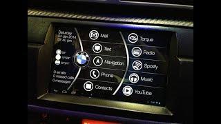 Tablet w aucie BMW e46 i Samsung Tab Łatwy montaż sterowanie z kierownicy