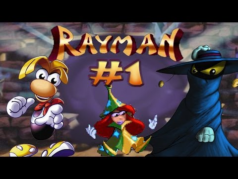 PSX | Guía Rayman 1 100% #1 - Comienza la aventura. Dream Forest (Pink Plant Woods | Anguish Lagoon)
