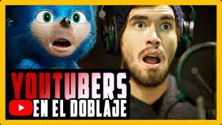 Youtubers que han hecho doblaje | VOCES QUE DAN VIDA