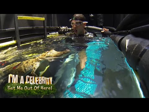 Joey Essex Gets Submerged With Eels & Crocodiles   I'm A Celebrity.. Me Out Of Here!
