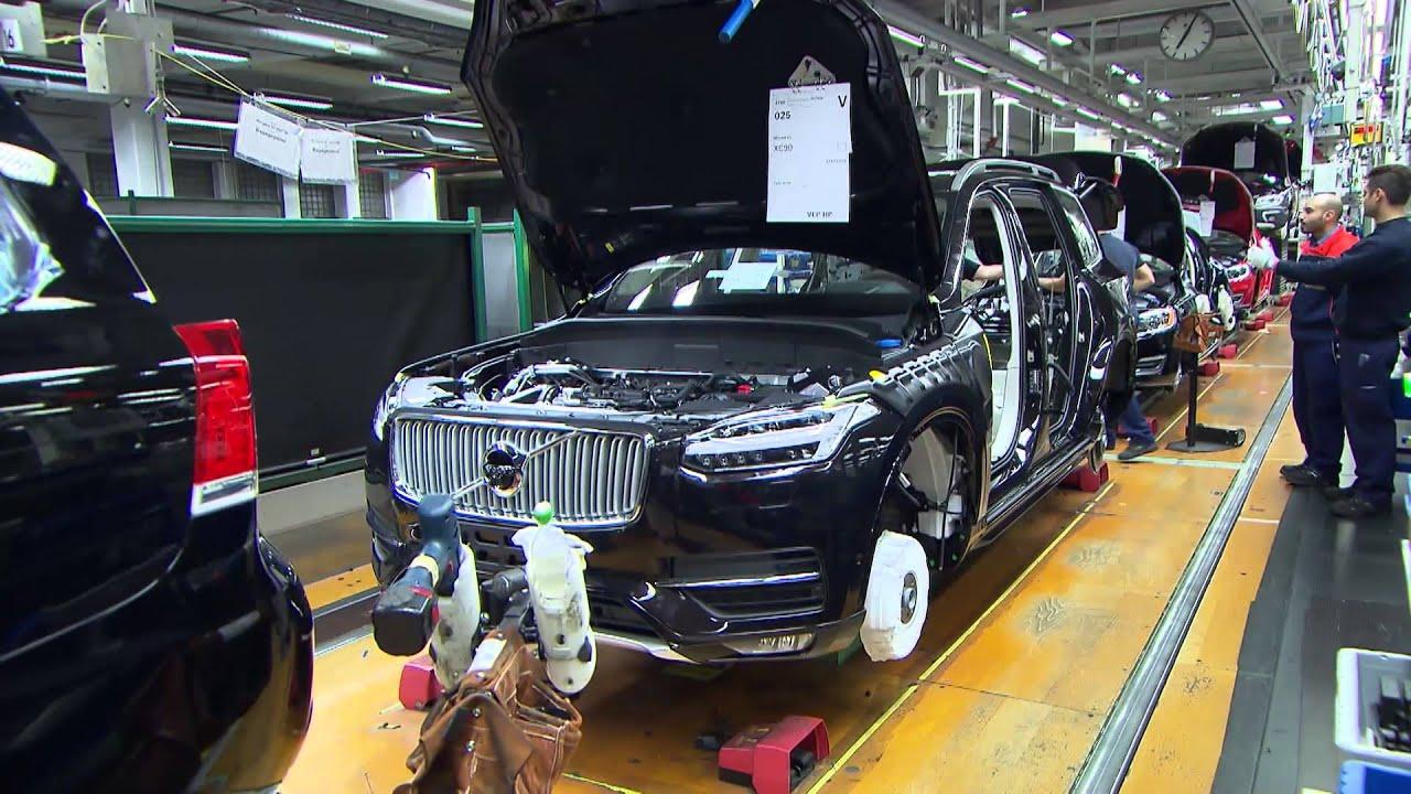 Pre-production of the all-new Volvo XC90 in Torslanda | AutoMotoTV - YouTube