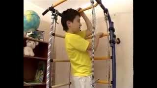 Детский спортивный комплекс Карусель(Комплекс представляет собой сборно-разборную металлическую конструкцию. Крепится к стене. Регулируемая..., 2014-06-30T08:06:12.000Z)