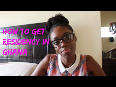 How To Get Residency In Ghana