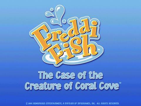 Freddi Fish 5: The Case Of The Creature Of Coral Cove Walkthrough