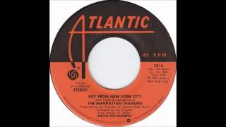 Manhattan Transfer - Boy From New York City - Billboard Top 100 of 1981