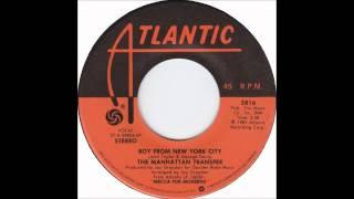 Manhattan Transfer - Boy From New York City - Billboard Top 100 of 1981
