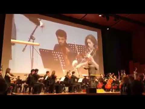 L'Orchestra Sanitansamble presso l'auditorium Sinopoli di Roma
