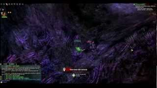 Panorama Champs de Ruine (Fields of Ruin) Guild Wars 2 + Branded Mine Jumping Puzzle