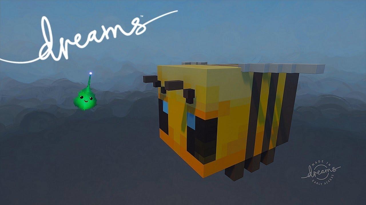 Dreams PS4 - Minecraft Bee