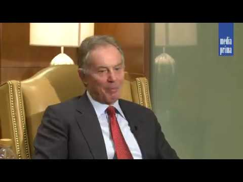 Tony Blair - UK Prime Minister Interview by RMR