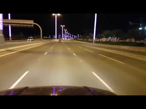 Night Drive in Qatar
