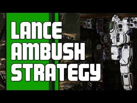Mechwarrior Online Strategy and Tips | Lance Ambush Strategy | MWO Tips