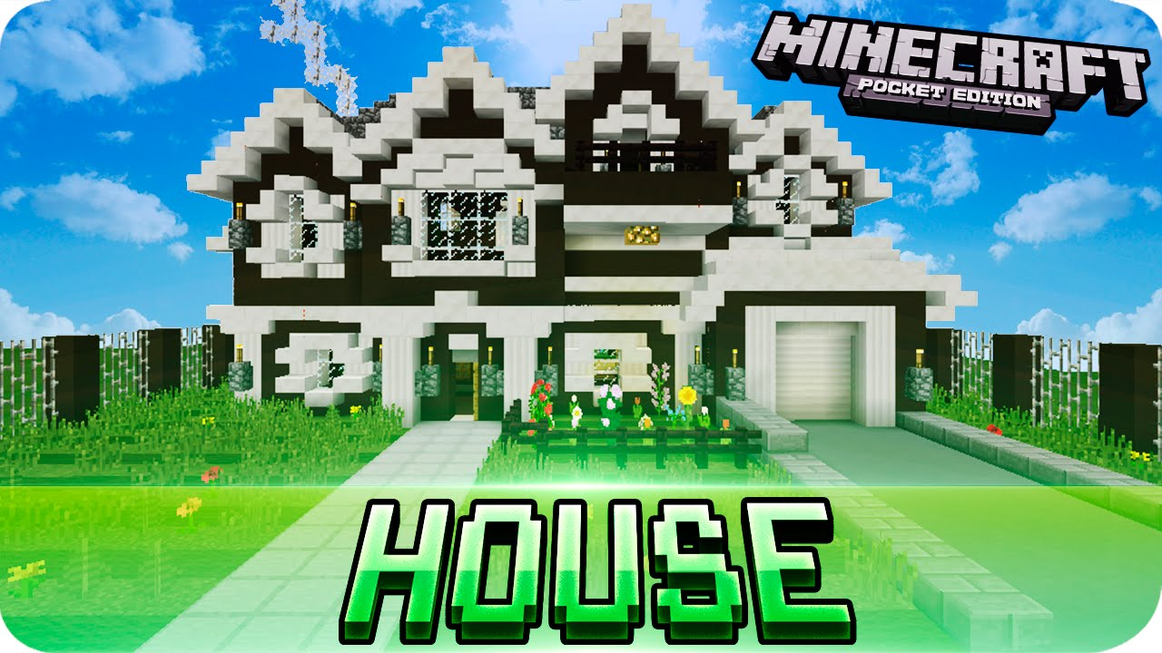 Minecraft Pe Beautiful House With Download 0