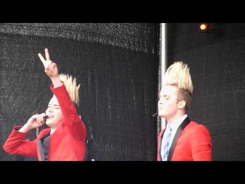 Jedward Chatting About Young Love Album Pop Picnic Waterford 3/6/12