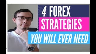 4 FOREX STRATEGIES YOU WILL EVER NEED (Forex/Stocks,Options)
