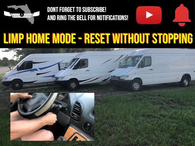 T1N Sprinter Limp Home Mode, How to Reset Without Stopping!