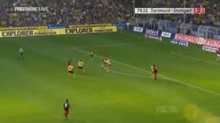 Dortmund 3:0 Stuttgart (Y.P.Lee Cross)