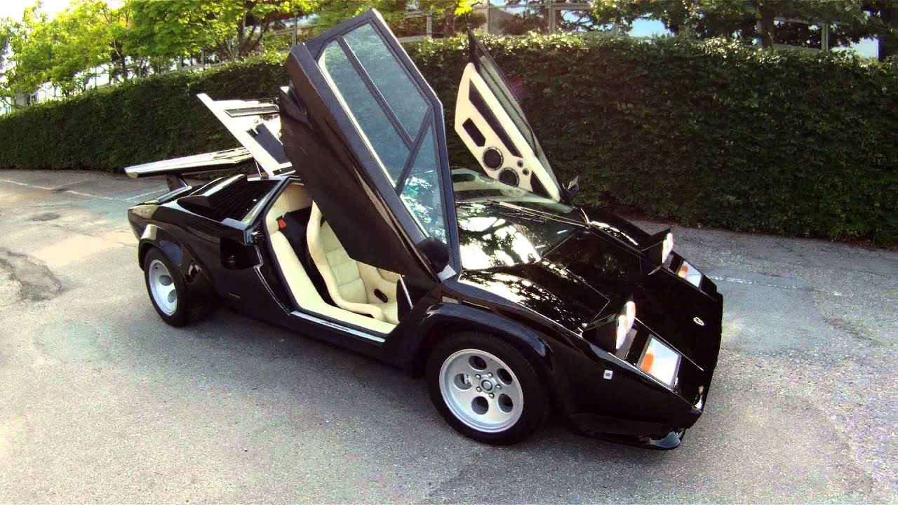 Lamborghini Countach 500 By Michael Blytmann Youtube