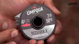 Umpqua Deceiver X Fluorocarbon Leader