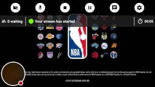 My NBA LIVE Mobile Stream