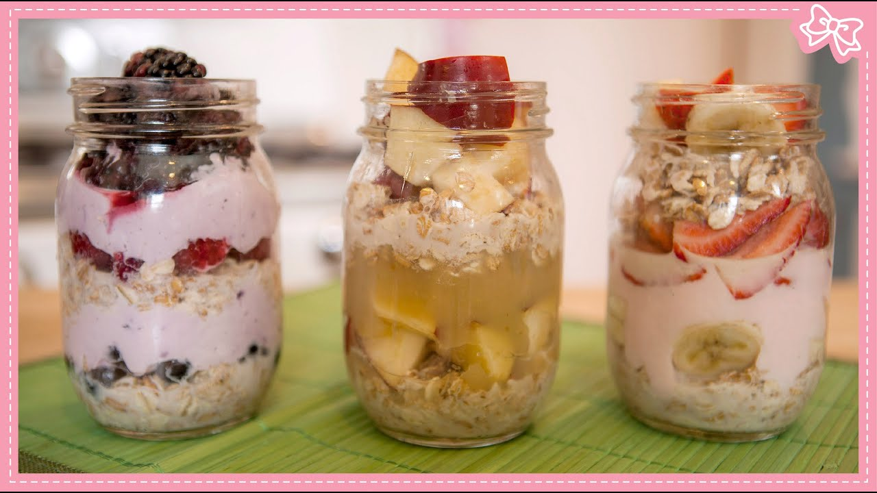 Overnight Oatmeal 3 Combinations Amp No Cooking Necessary