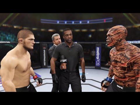 Khabib Vs. Demon (EA Sports UFC 2) - Champion Fight ☝️🦅