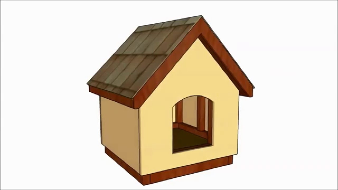 Free Dog House Plans Youtube