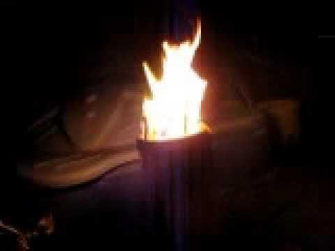 Diy winecooler woodgas stove like biolite, rocket stove ...
