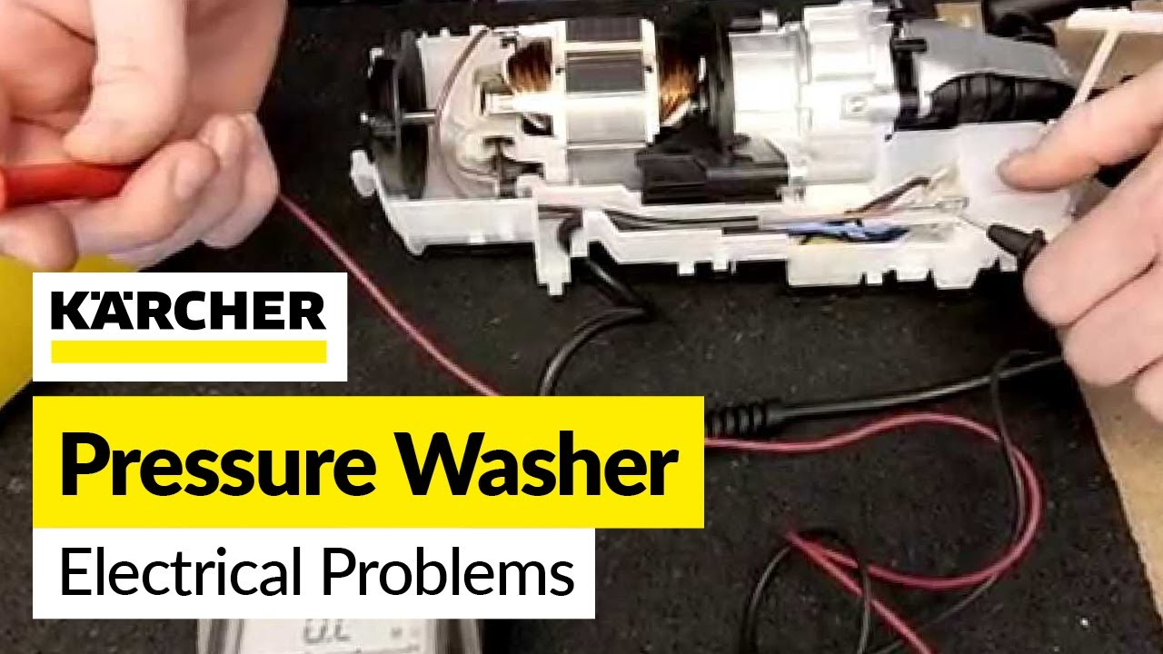 How To Diagnose Pressure Washer Electrical Problems Youtube Do Troubleshooting Of Motor Control Circuit