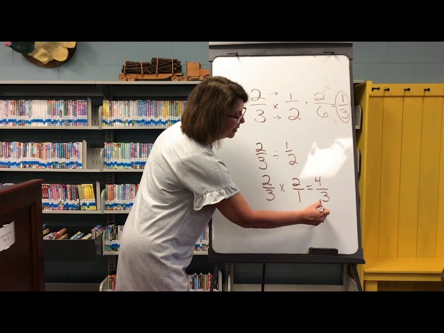 Seventh Grade- Math: Multiplying and Dividing Fractions