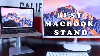 Best Macbook Stand / Tabletop Monitor Riser - Bracteck (Mount-It!)