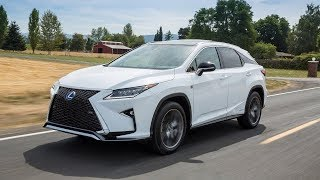 UPDATE l 2016 Lexus RX450h F Sport AWD l Performance, Specs, Price, and More