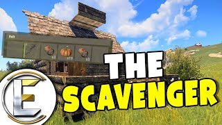 Looting Dead Bodies For Easy Loot - Rust Solo Survival Life EP 2 (The Scavenger)