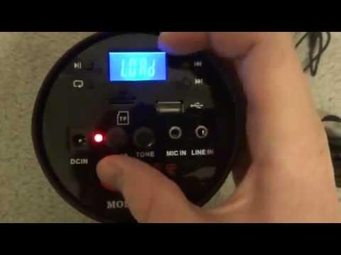 Aker एके 38 पोर्टेबल आवाज एम्पलीफायर और एमपी 3 प्लेयर की समीक्षा