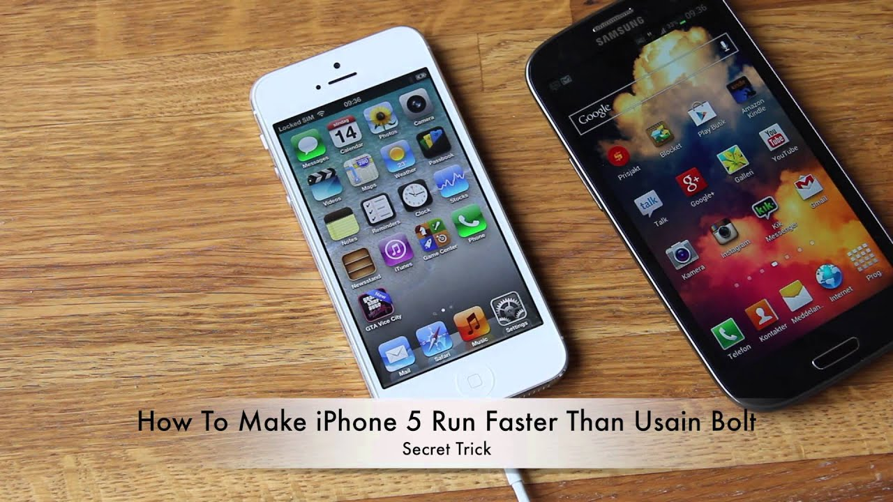 how to make my iphone faster how to make iphone 5 run faster than usain bolt 18913
