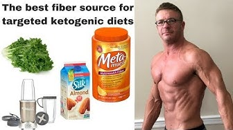 The best fiber source for targeted ketogenic diets