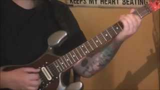 How to play Save A Horse (Ride A Cowboy) by Big & Rich on guitar by Mike Gross