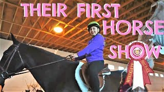 THEIR FIRST HORSE SHOW! Day 014 (01/14/18)