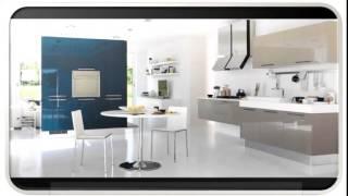 Kitchen Blue Modern