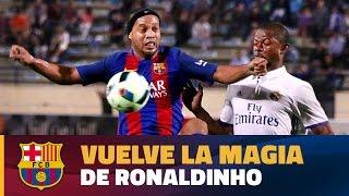 BARÇA LEGENDS - Ronaldinho masterclass in Beirut