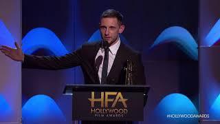Jamie Bell Accepts the New Hollywood Award - HFA 2017