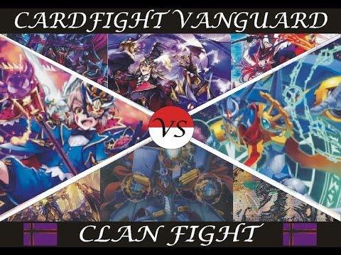 Cardfight!! Vanguard Pale Moon vs Gear Chronicle