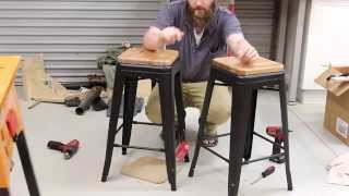 044 - Dressing up some barstools