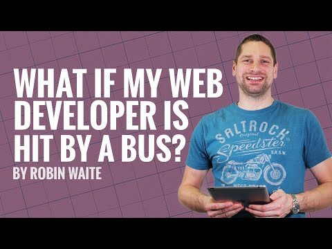 How to Find a Good Web Design Agency and What If My Web Developer Gets Hit By A Bus?