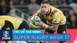 TRY OF THE WEEK: 2018 Super Rugby Week 17