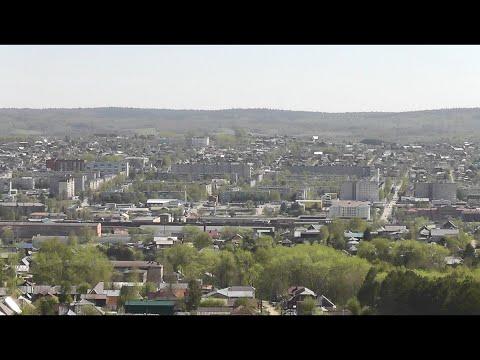 """Прогулки по г. Лысьва (май 2020 г.) под музыку """"Азамат Исенгазин - Любовь коронавирус"""""""