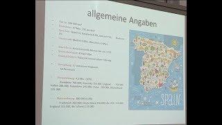 Referat / Präsentation über Spanien - für den Deutschkurs