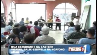 News@1: Mga estudyante sa Eastern Visayas, balik-eskwela na ngayong araw