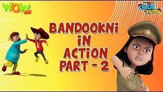 Bandookni Ka ACTION -Part 2- Chacha Bhatija Funny Videos and Compilations - 3D Animation Cartoon
