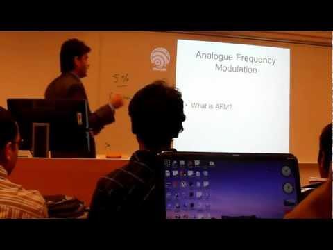 Analogue Frequency Modulation and Digital Modulation Coexistence Presentation University of Gävle